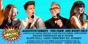 Addictive Comedy The Crew One Night Only Show