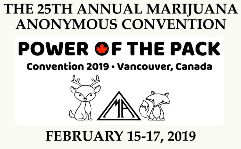 Marijuana Anonymous Convention Addictive Comedy Show