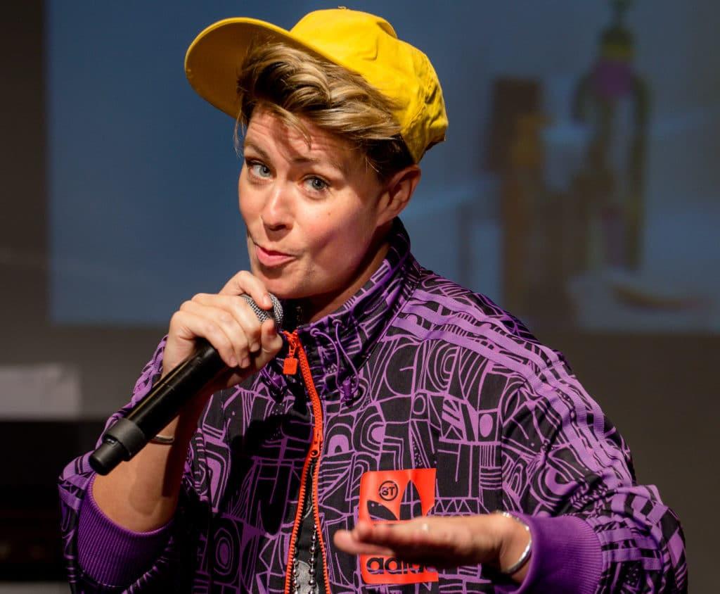 Lizzie Allan Comedy Graduate Heals University of Salford