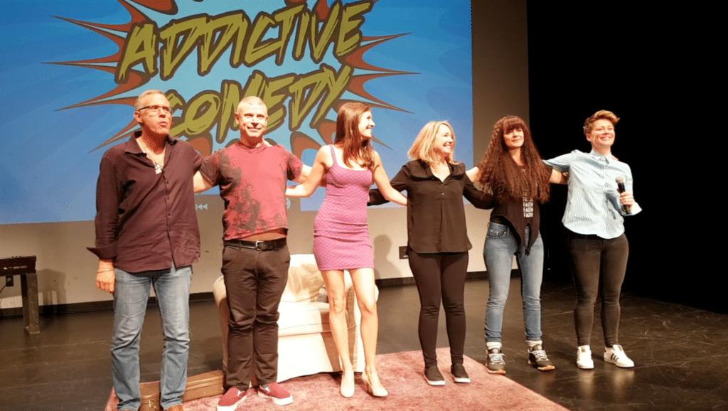 Addictive Comedy Show raises money for Launching Pad Addiction Rehabilitation Society in White Rock September 2017