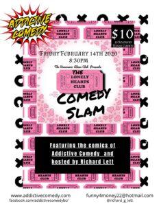 Vancouver Alano Club Lonely Hearts Comedy Slam 2019