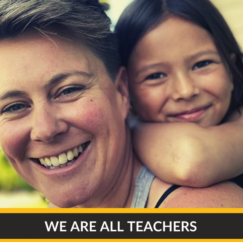 We are all teachers
